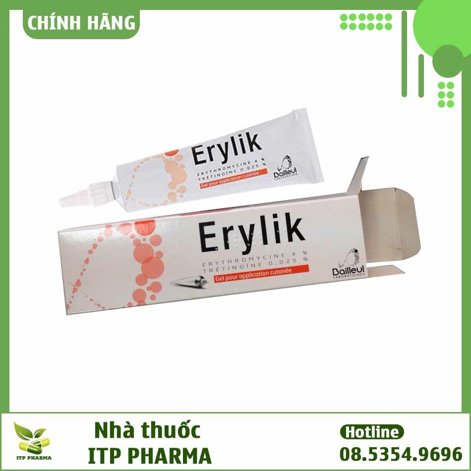 Erylik - thuốc đặc trị mụn trứng cá