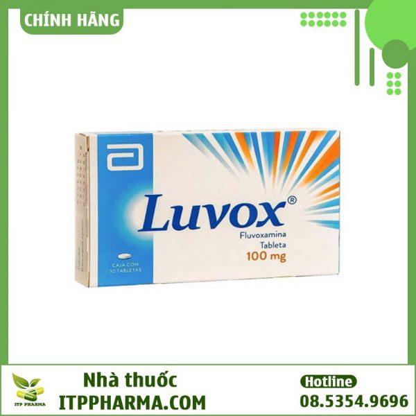 Hình ảnh hộp thuốc Luvox 100mg