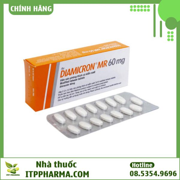 Dạng đóng gói của thuốc Diamicron MR