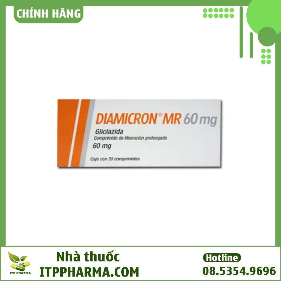 Hình ảnh hộp thuốc Diamicron MR 60mg