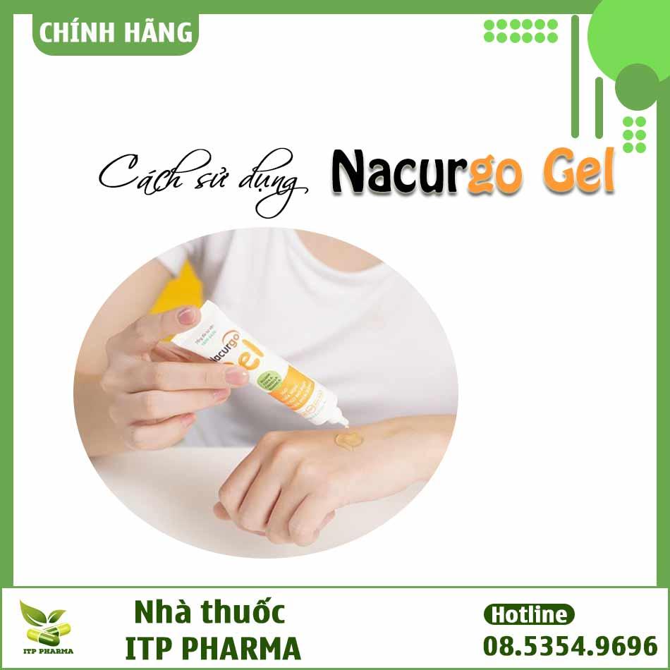 Cách sử dụng Nacurgo Gel