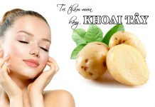 Một vài phương pháp trị thâm mụn bằng khoai tây